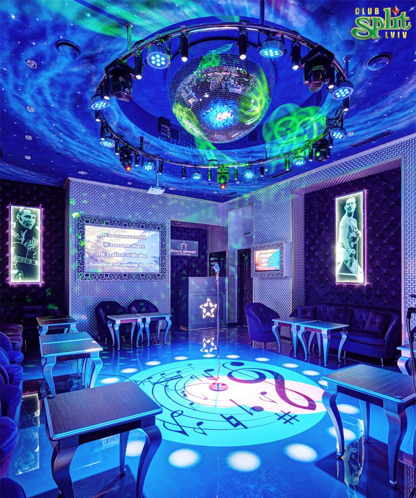 Gallery Interior of the karaoke club: photo №14