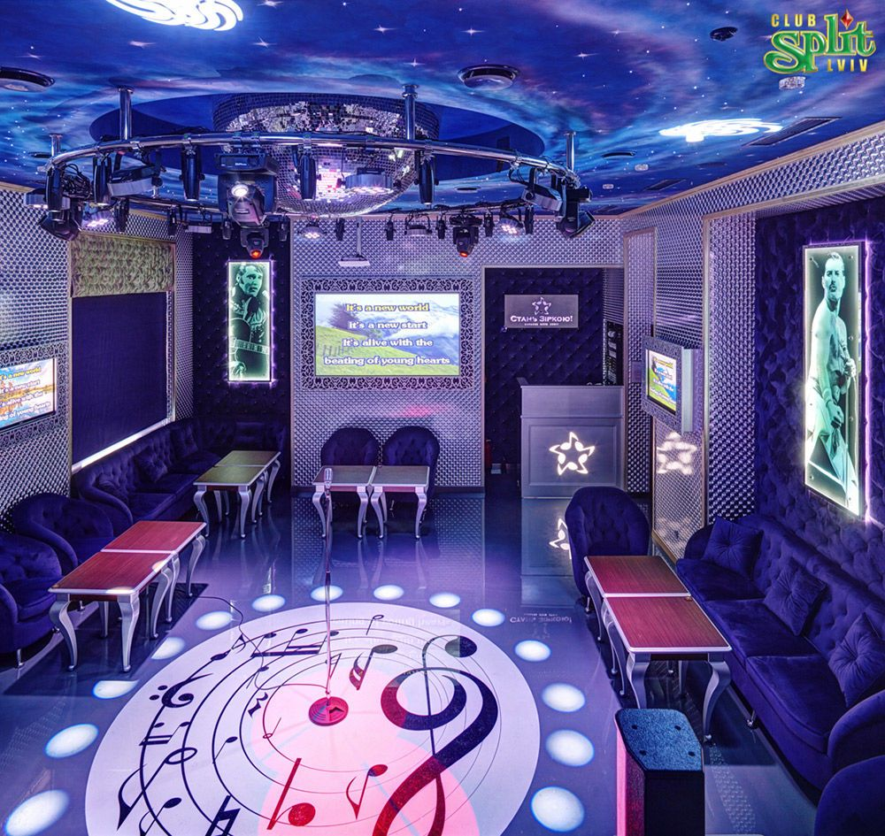 Gallery Interior of the karaoke club: photo №22