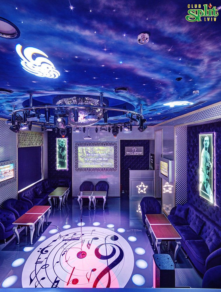 Gallery Interior of the karaoke club: photo №23