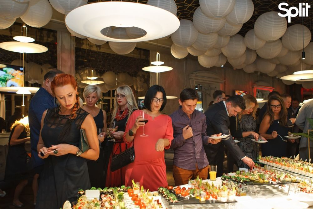 Gallery Split lights a new star – the opening of a fusion restaurant: photo №80