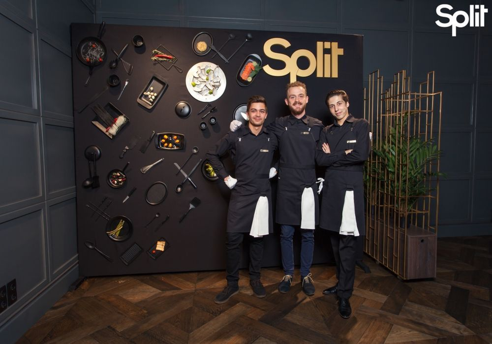 Gallery Split lights a new star – the opening of a fusion restaurant: photo №100