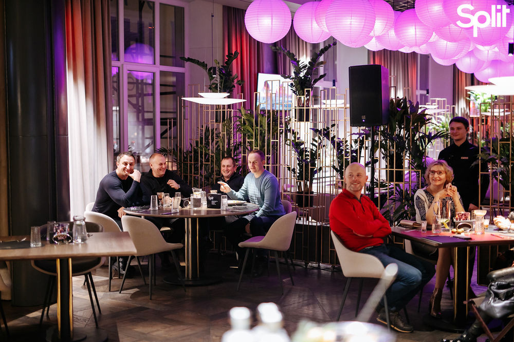 Gallery Fusion dinner with Split: photo №124