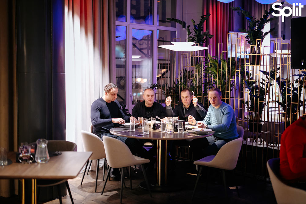 Gallery Fusion dinner with Split: photo №134