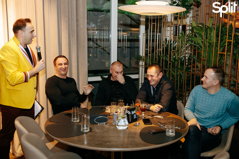 Gallery Fusion dinner with Split: photo №151